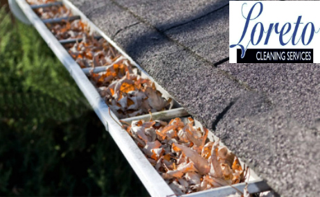 Gutter that has been professionally cleaned Dublin