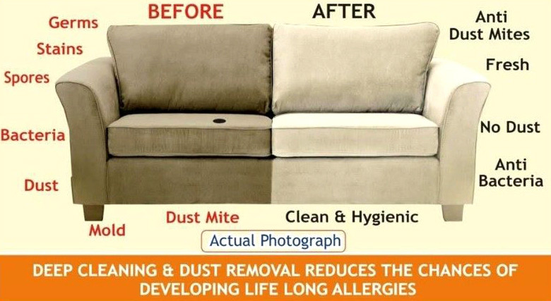 Professional Sofa cleaning at work dublin